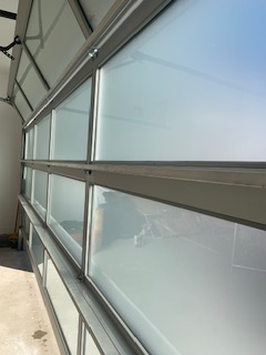 Glass garage door are stunning